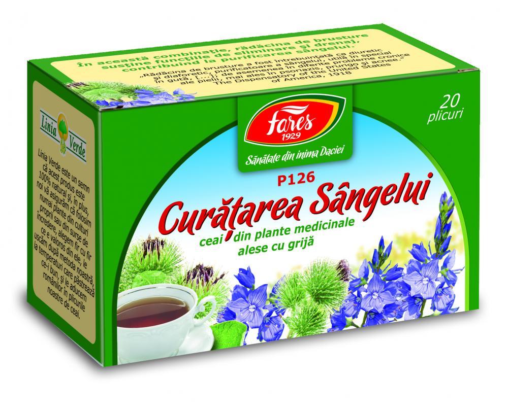 ceai de curatarea sangelui se bazează suplimentul pe bază de plante detox