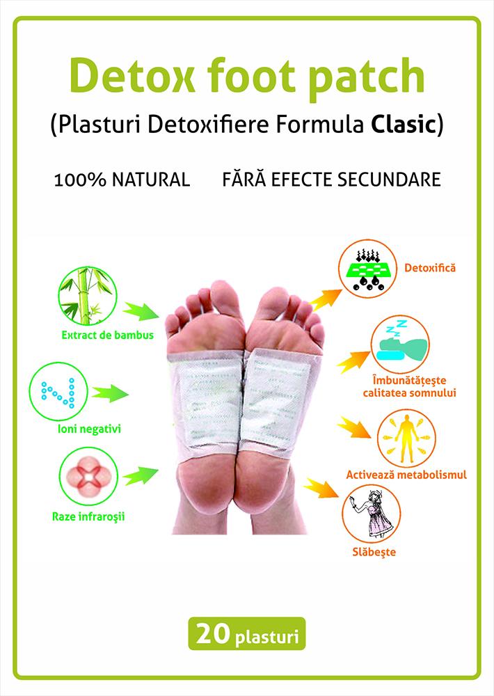 Plasturi Detoxifiere - ceas-mana.ro