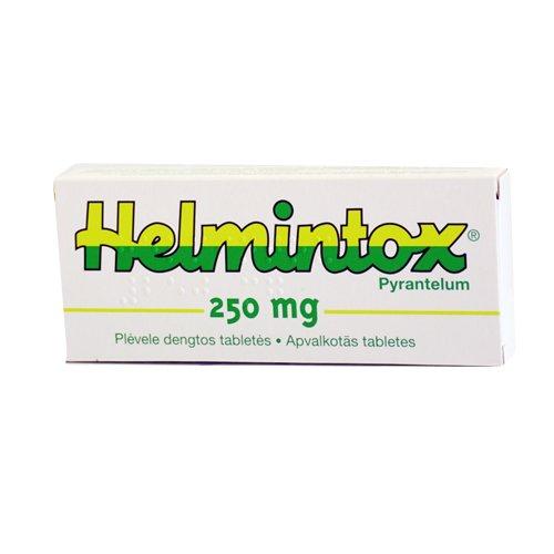 Pyrantel ce face cu viermii - Helmintox pour femme enceinte - Helmintox berniem