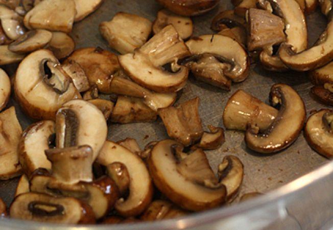ciuperci sotate