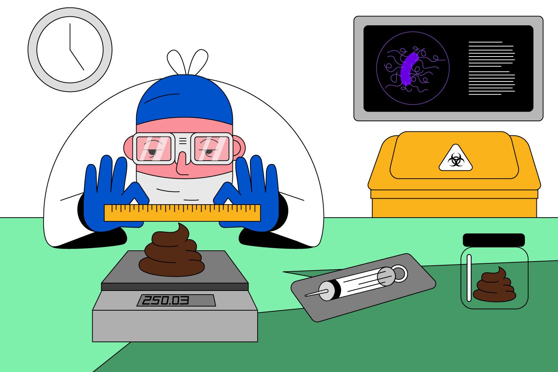 metoda de flotare pentru paraziți ITS și condiloame
