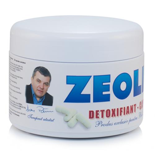 Zeolit detoxifiant natural,250 capsule, 470 lei