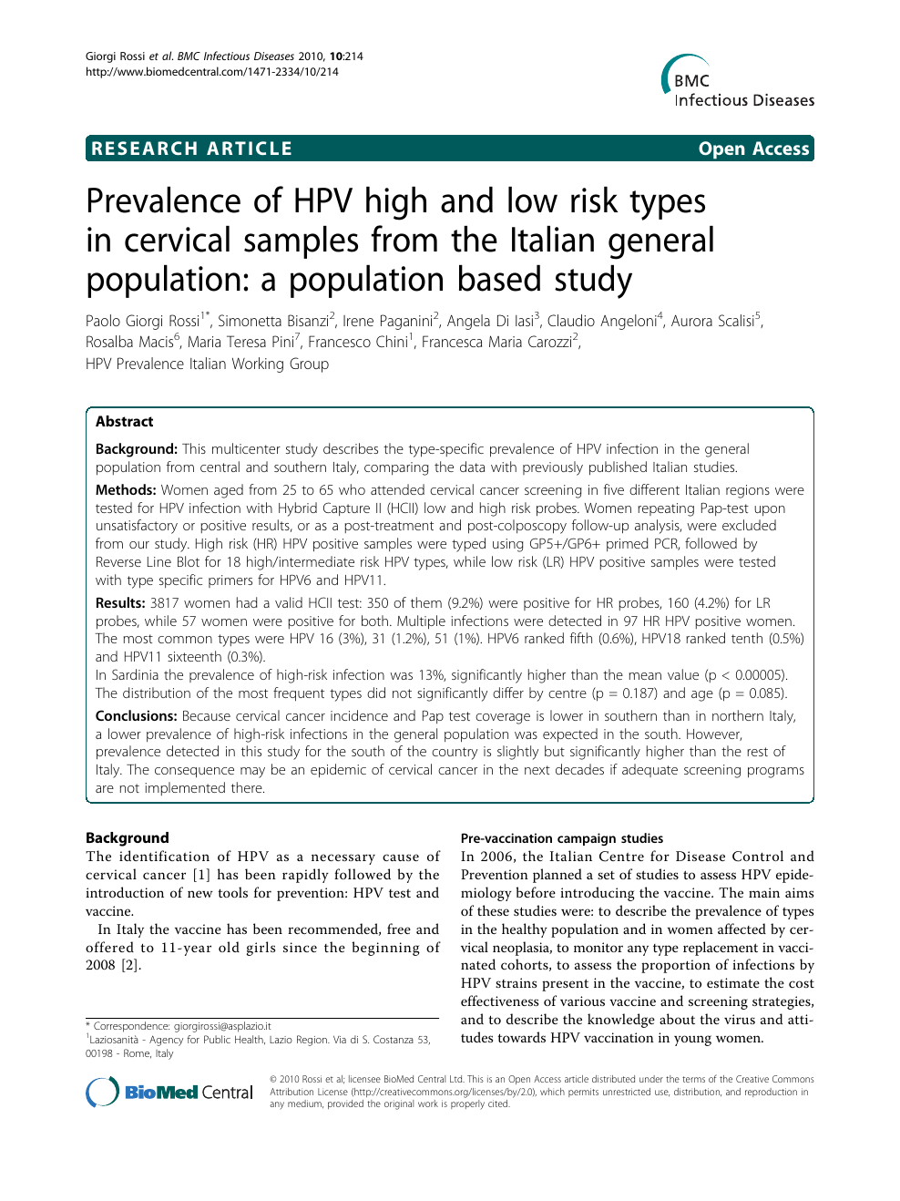 hpv prevalence italy squamous cell papilloma larynx pathology outlines
