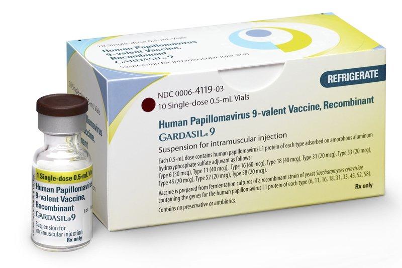 hpv vaccine cancer incidence virus giardia bij katten