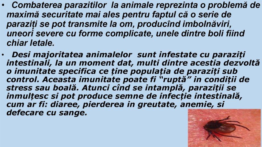 Mediu al unui organism parazitar