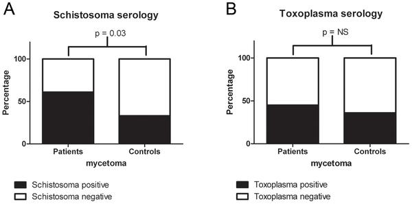 schistosomiasis serology cancer bucal tabaco