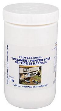 Bioactivator fose septice, haznale, WC-uri- Bio R (Alpha Septer) Ploiesti • ceas-mana.ro