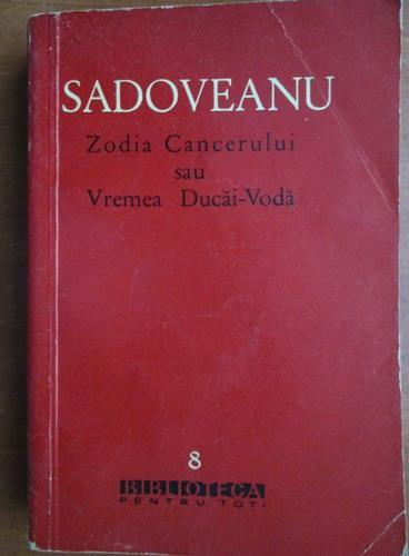 Zodia cancerului titlul Zodia cancerului sau vremea ducai voda comentariu