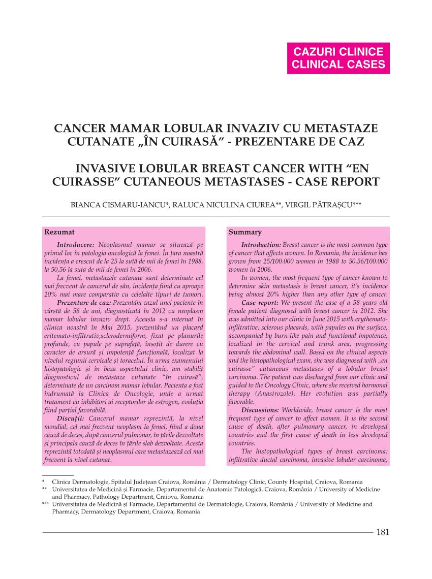 ovarian cancer growth rate