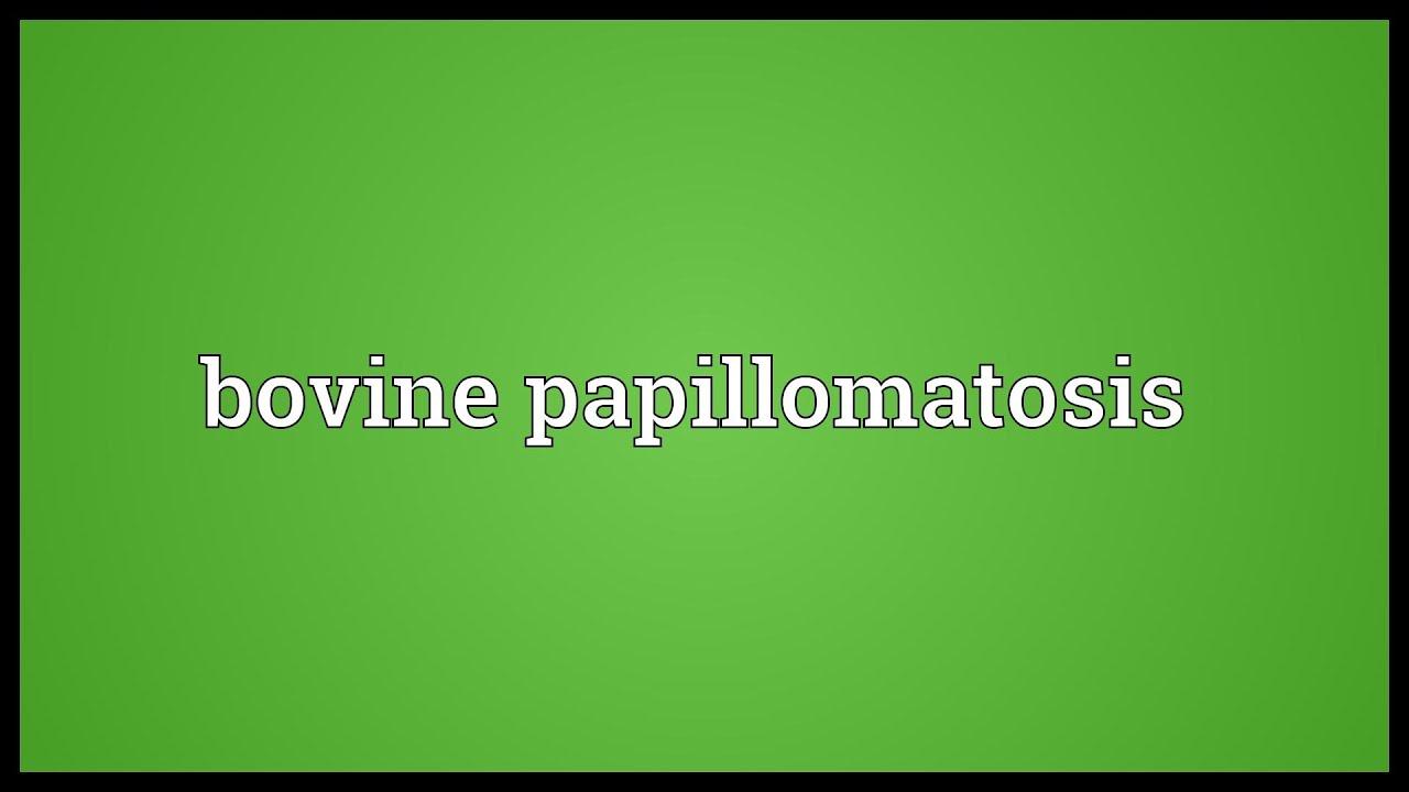 papillomatosis synonym