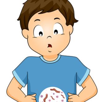 parazitii la copii simptome