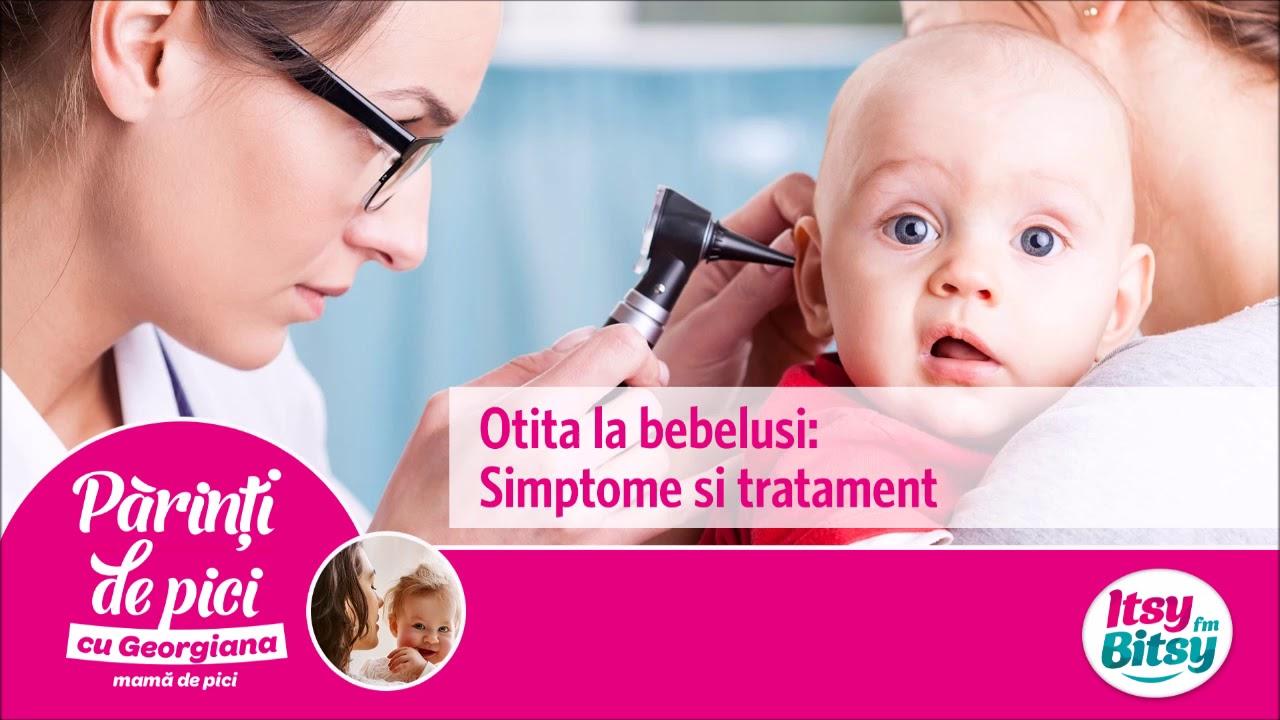 simptome și tratament pentru bebeluși
